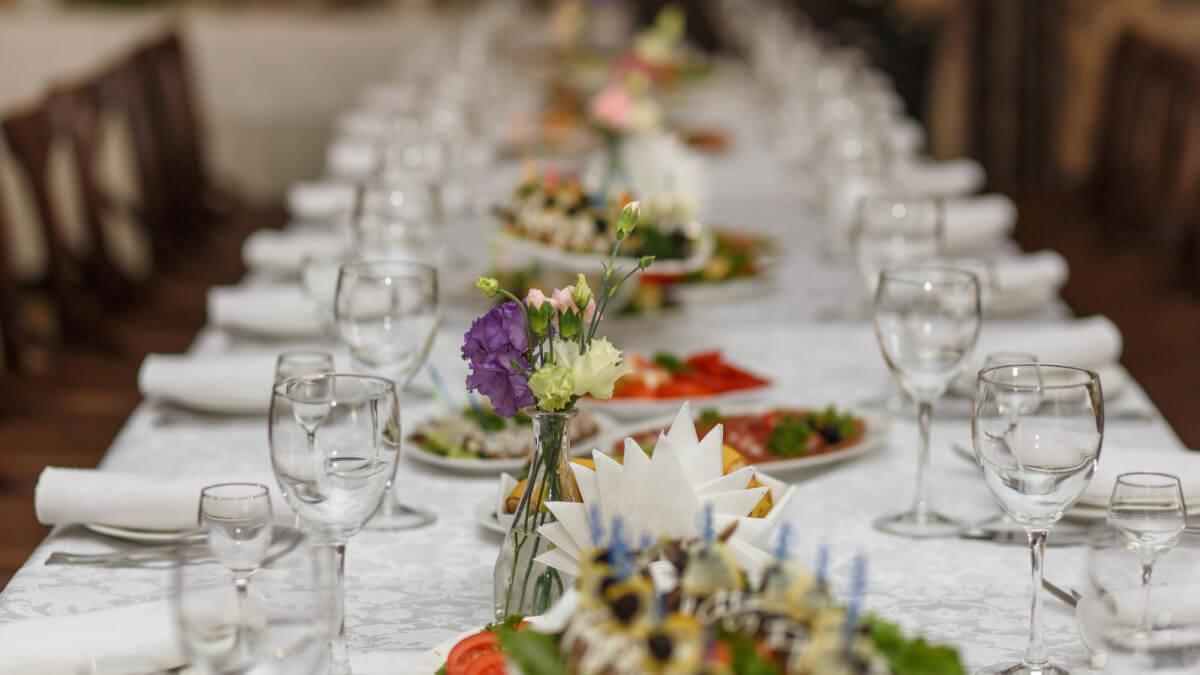 Servera gourmetmat på ditt bröllop
